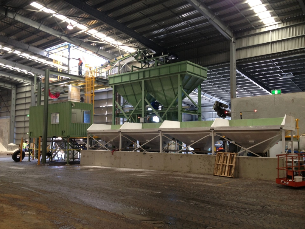 Fertiliser Bagging Plant